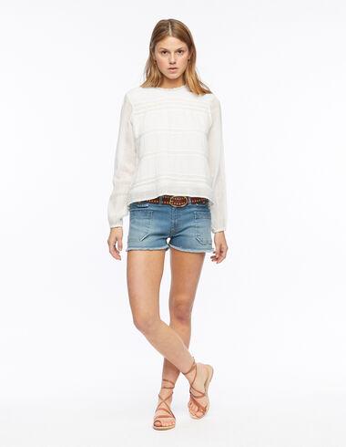Short poches en jean  - Shorts - Nícoli