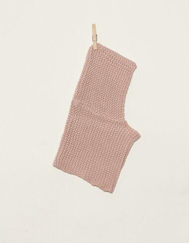 Cuello capucha rosa - Bufandas - Nícoli