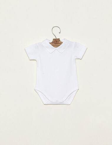 White Peter Pan collar body - View all > - Nícoli