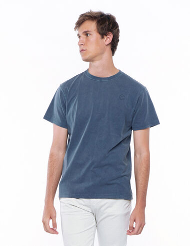 Camiseta smile azul oscuro - Camisetas - Nícoli
