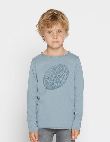 T-shirt solidaire manches longues «ballon» pour petits garçons - Voir tout > - Nícoli