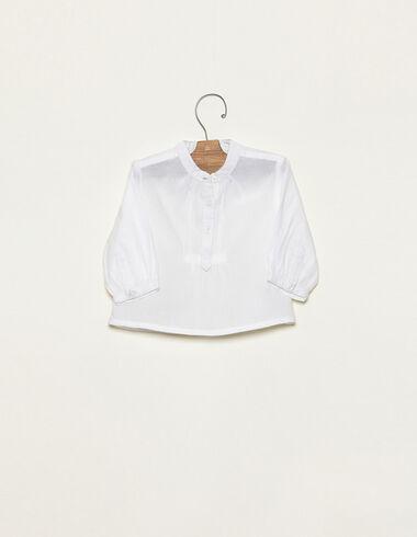 Camisa manga larga blanca - Ver todo > - Nícoli
