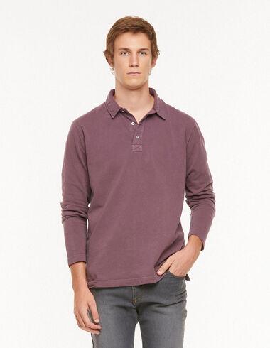 Garnet long sleeve polo shirt - View all > - Nícoli