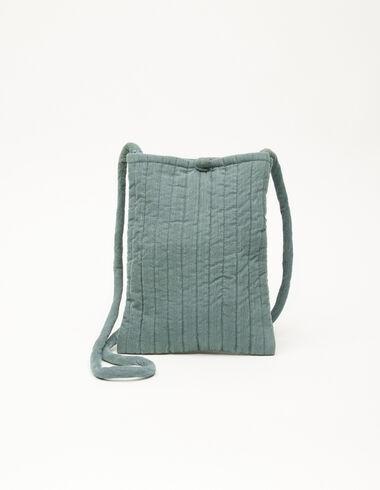 Green corduroy crossbody bag  - The corduroy edit - Nícoli