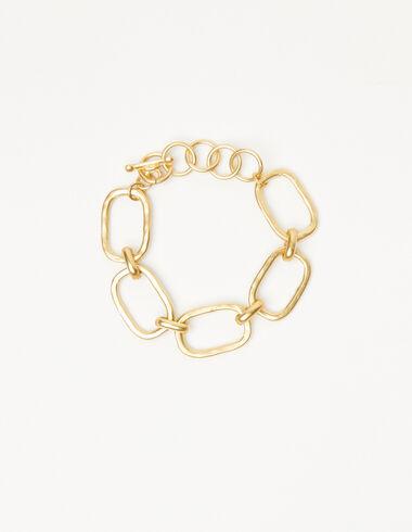 Pulsera eslabones dorada - The jewellery edition - Nícoli