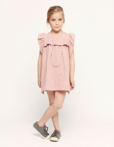 Pink ruffle shoulder dress - Spring Favourite Selection - Nícoli