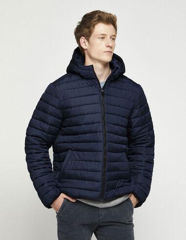 Blue padded coat - Outerwear - Nícoli
