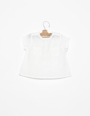Chemise poches boutons blanche - Voir tout > - Nícoli