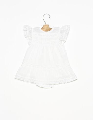 Robe dentelles blanche - Ropa - Nícoli