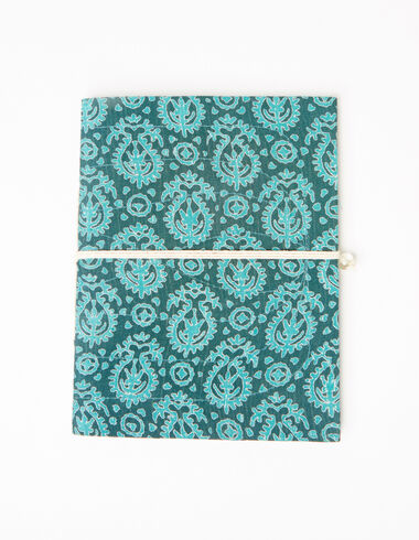 Green paisley notebook - View all > - Nícoli