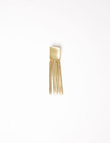 Gold stick square earrings - Gift Ideas By Isabelle Dubrulle - Nícoli