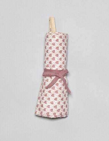 Gasa bebé corazones rosa - Ver todo > - Nícoli