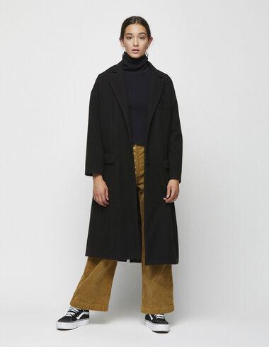 Long black coat - View all > - Nícoli