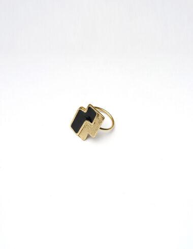 Anillo dorado puzzle  - Golden Collection - Nícoli