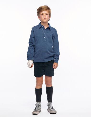 Pantalon chino velours côtelé anthracite - Voir tout > - Nícoli