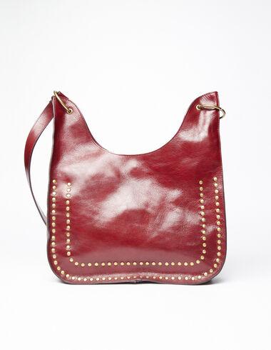 Shopping bag tachuelas granate - Ver todo > - Nícoli