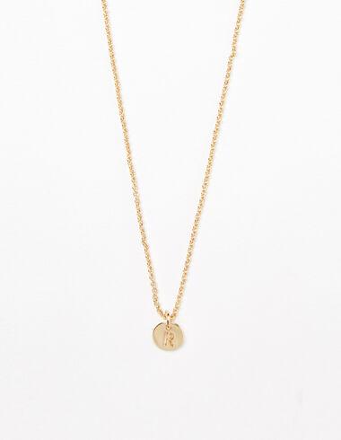"""Letter """"R"""" necklace - Necklaces - Nícoli"""