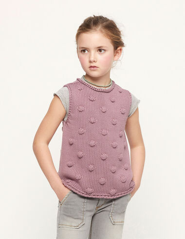 Berry bobble waistcoat - View all > - Nícoli