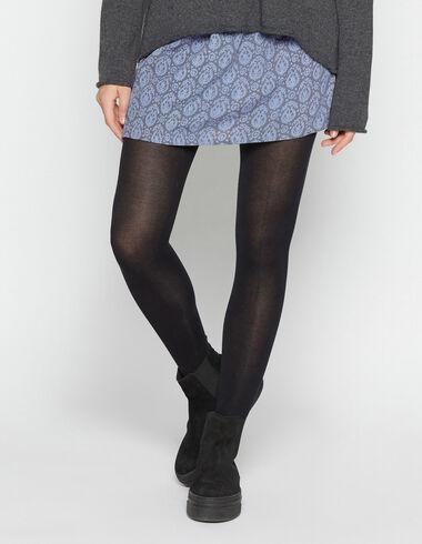 Girl's blue paisley skirt - View all > - Nícoli
