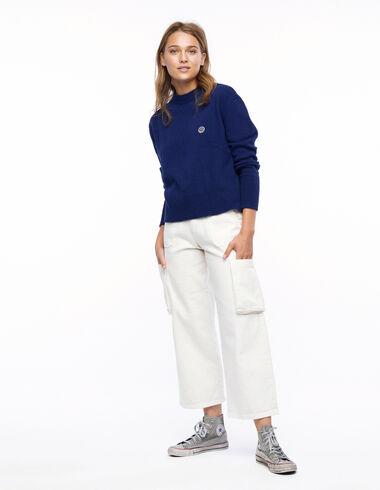 Ecru cargo trousers - New Autumn Drops - Nícoli