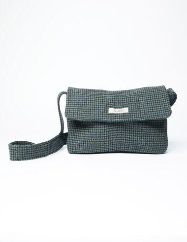 Blue tweed bag - View all > - Nícoli