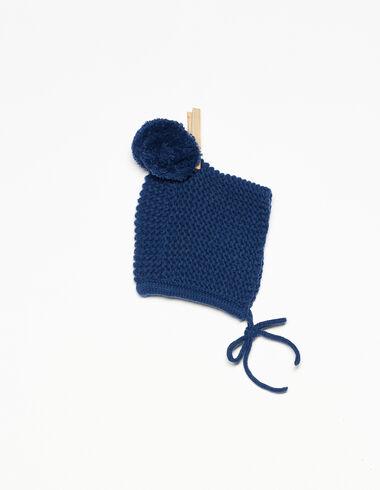 Capota pompón azul - Ver todo > - Nícoli