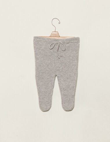 Grey ribbed long bloomers - View all > - Nícoli