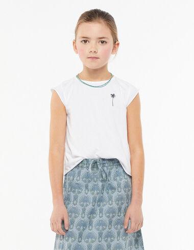 White palm tree t-shirt - View all > - Nícoli