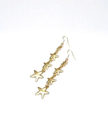Boucles d'oreilles dorées Orion - Voir tout > - Nícoli