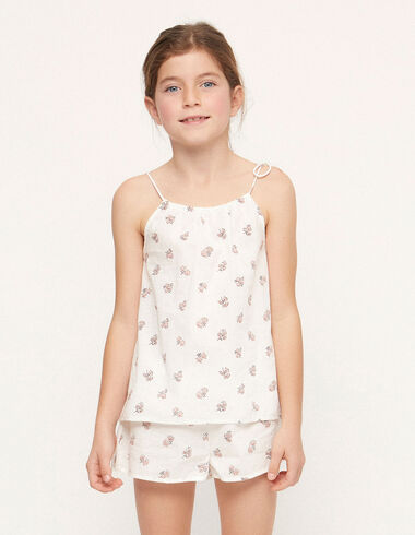 Pyjama print fleur rose - Voit tout > - Nícoli