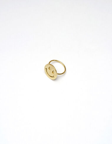Smile ring - Golden Collection - Nícoli