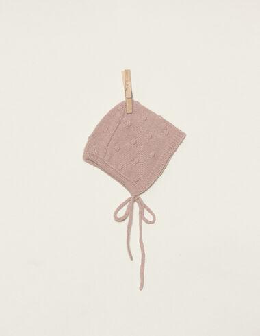Béguin rose petites boules - Bonnets - Nícoli