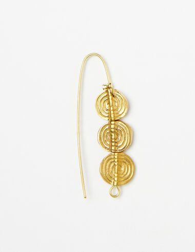 Gold circle earrings - View all > - Nícoli