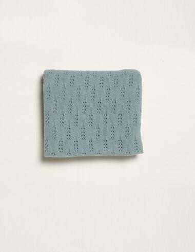 Blue shawl - Toquillas - Nícoli