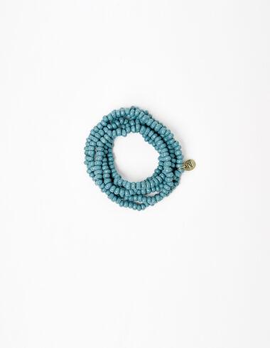 Collar bolitas azul oscuro - Collares - Nícoli