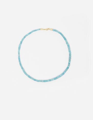 Collier petites boules turquoise  - Voir tout > - Nícoli