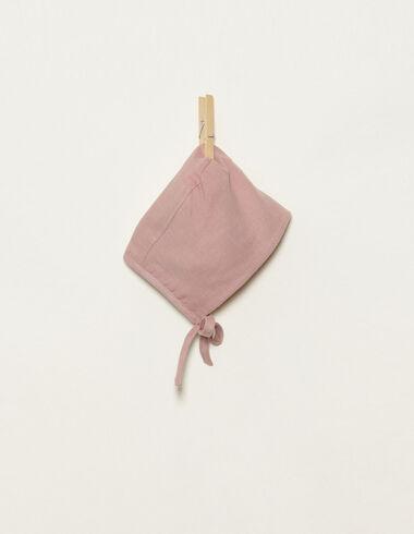 Pink bonnet - Accesories - Nícoli