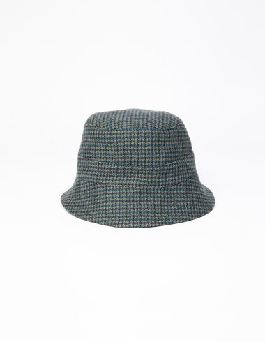 Blue tweed boy's hat - Back in the City - Nícoli