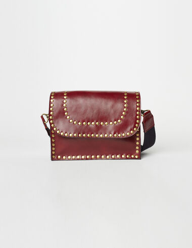 The 'N' Bag mini in maroon - The Summer Denim - Nícoli