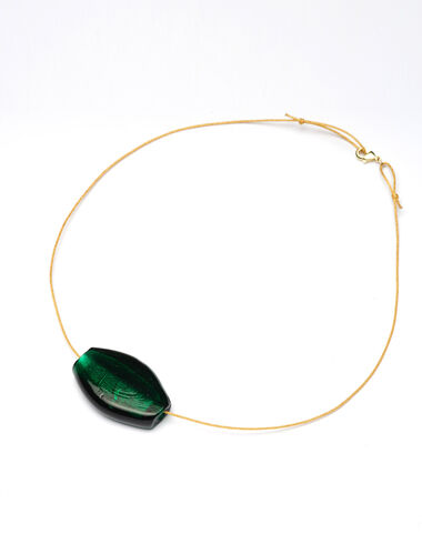Green Maxi Rock necklace - New in - Nícoli