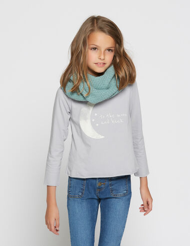 Girl's grey strawberry moon charity t-shirt - T-Shirts - Nícoli