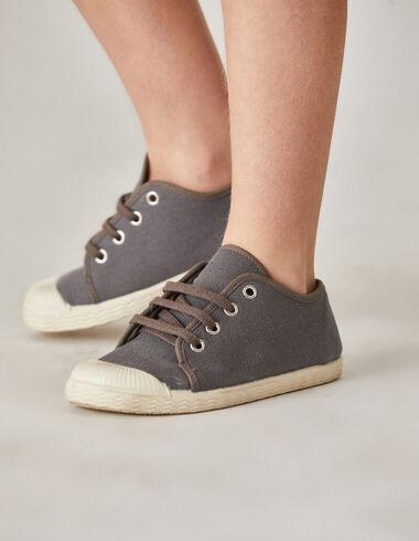 Zapatilla gris - Zapatos - Nícoli