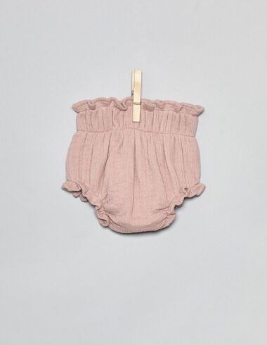 Pink newborn bloomers - Bloomers - Nícoli