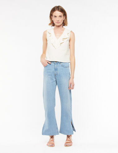 Wide-leg jeans - Denim - Nícoli