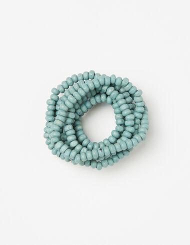 Collier perles vert clair pour petites filles - Colliers - Nícoli