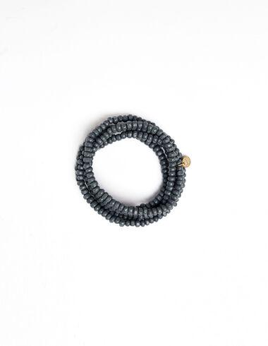 Collier perles anthracite  - Voir tout > - Nícoli
