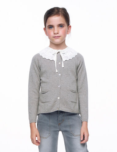Beige button-up cardigan - View all > - Nícoli