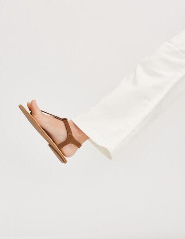 Girl's brown sandals - Footwear - Nícoli