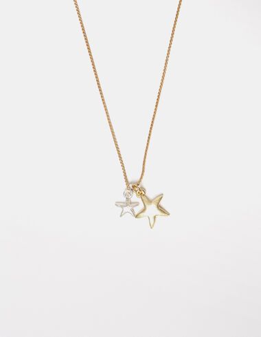 Gold and silver stars necklace - New Summer Tees - Nícoli