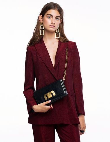 Blazer smoking brillant rouge - More than Black Looks - Nícoli